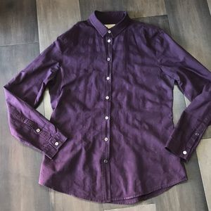 Burberry Brit Fitted Button Down Shirt- Size M